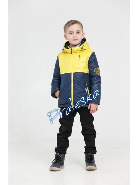 """Куртка для мальчика """"Олимпик"""" 04М-11/17В"""